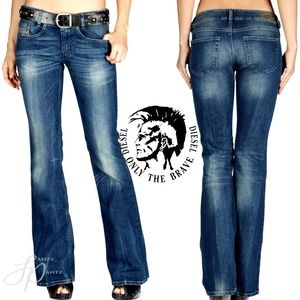Diesel Jeans Louvely Bootcut Stretch 27x32  Dd6